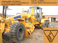 hot sale used china made py180c motor grader in shanghai