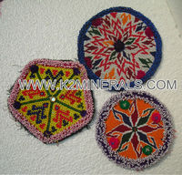 Nomadic turkoman banjara traditional ethnic medallion ht