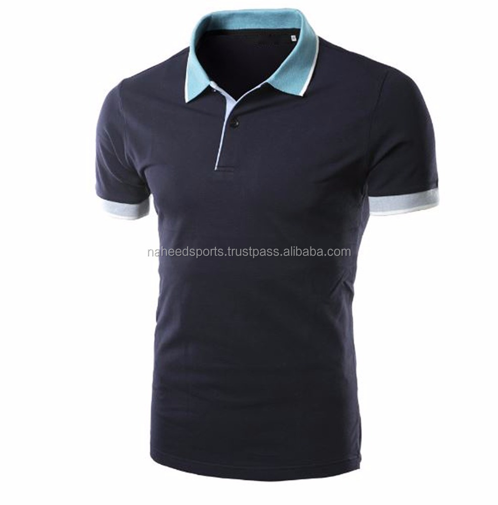 high quality Wholesale Polo Shirt 100% cotton polo t-shirt fashion clothing For Men