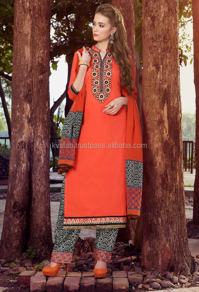 Indian & Pakistani Straight Plazo Suits-4453 Styleon 2