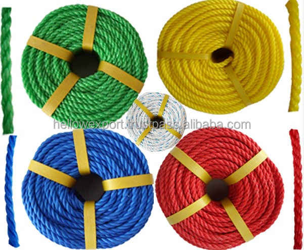 hot sale pp polypropylene rope/used steel wire rope
