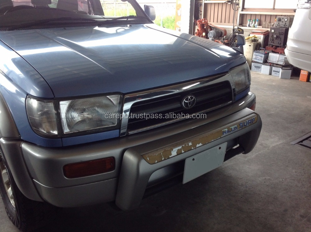 GOOD CONDITION RIGHT HAND STEERING USED CAR TOYOTA HILUX SURF 1996 (ENGINE: 1KZ-TE, MODEL: KD-KZN185W, GRADE: SSR-X)