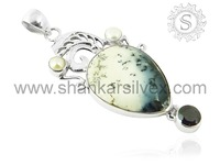 Pendant silver jewelry making supplies