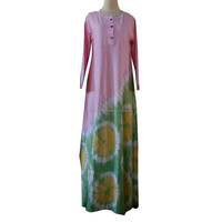 Gamis Combed Tie Dye 7
