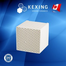 Aluminum Porcelain Honeycomb ceramic regenerator for RTO RCO