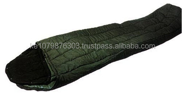 olive green military sleeping bag for cold weather