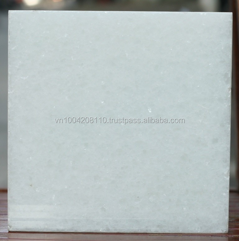 Low price Vietnam crystal white marble tiles