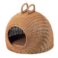 Rattan Pet beds comfortable warms cat