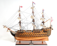 HMS VICTORY COPPER BOTTOM Tall ship model