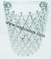 Classic wall Hanger Crystal Centerpiece For Home Decorations and Cone Type Wall Hanger Manufactured By Royal De Wajidsons