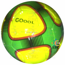 machine-stitched soccer ball, machine-stitched football