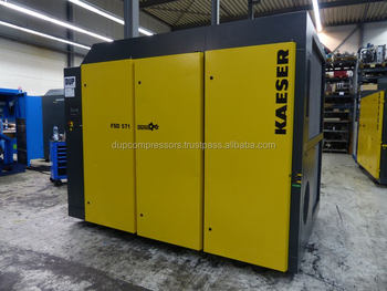Used rotary screw air compressor Kaeser FSD 571