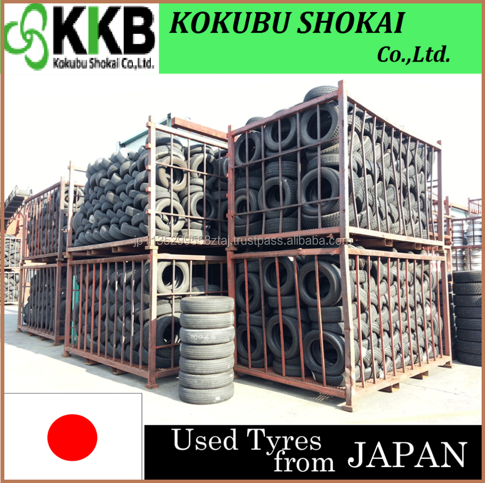 Japanese Major Brands tires car, used tire with high performance