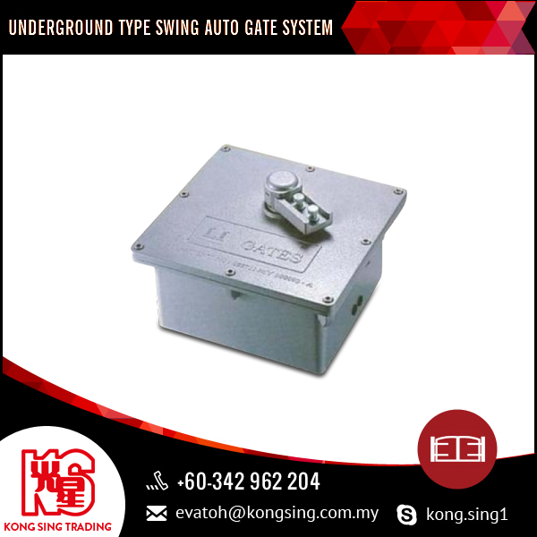 Underground Type Swing Auto Gate System Protects Underground-concealed Motor By Being Waterproof, Weatherproof