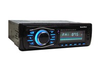 Sound Boss SB-34 Bluetooth Wireless With Phone Caller Id Receiver Car Media Player (Single Din)