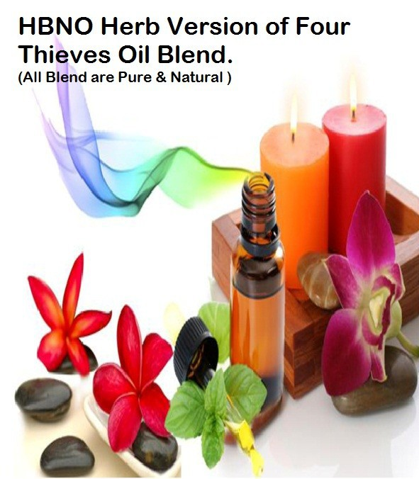 HBNO Herb Version of Four Thieves Oil Blend.