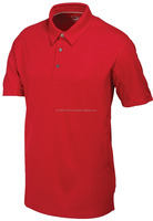 Dri fit Red Polo Golf Shirt 2017 Mens customizable dry fit polo shirts