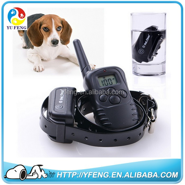 100% Waterproof Rechargeable LCD Electronic Shock Remote Dog Training Collar Electric Pet training collar Pet Trainer