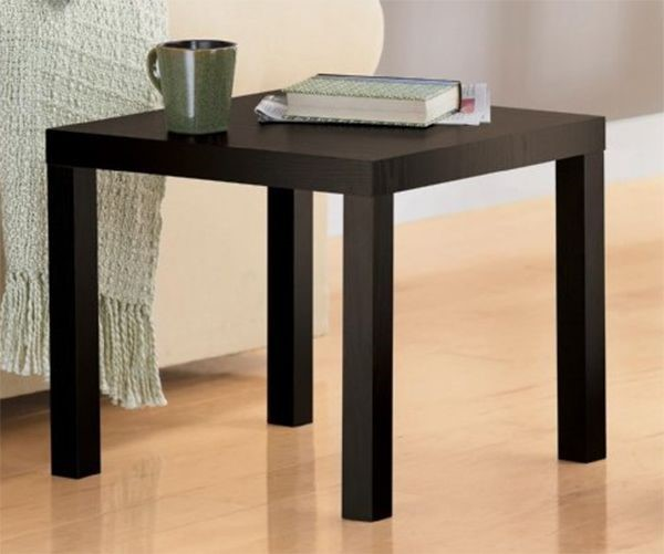 Home Furniture Classic Design Powder Coated Pine Wood End Table Home Goods  Coffee Table For Living