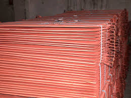 Hot Sell Copper Cathodes, Cu 99. 999% Purity for sale