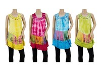 Wholesale Clothing Women's Explosive Strap Indian Tunics