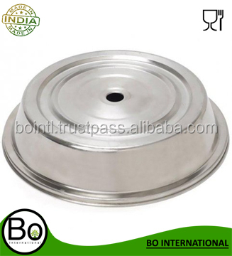 Stainless steel dome dish plate food cover