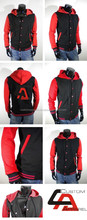 Custom Latest Design Fashionable Mens Varsity Wool Leather Jackets
