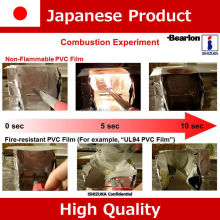 Japanese non-flammable antistatic transparent vinyl roll sheet