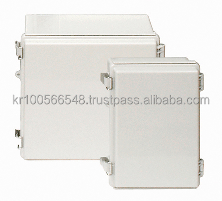 IP66/67 Plastic Enclosure for electronic (Molded hinge type)