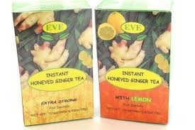 instant honeyed Ginger tea