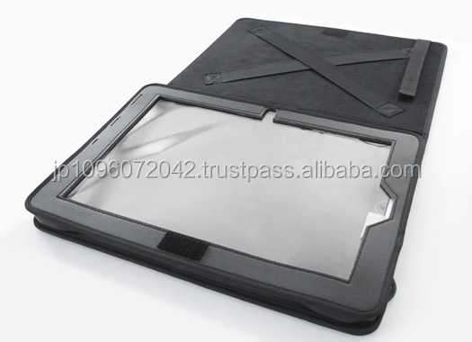 Easy to use and Functional tablet cover with produced by Japan,camera protect case and mobile case, etc. also available