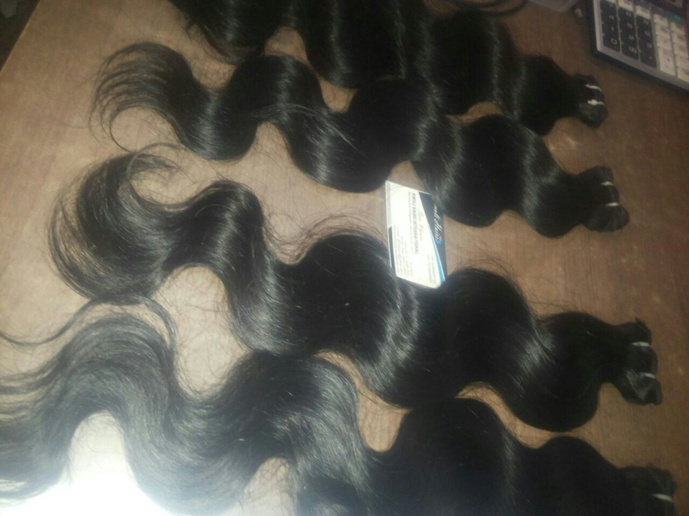 Factory Price Peruvian Body Wave 100% Real Top Quality Indian Cheap Remy Human Hair Weaving
