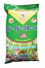 (15 - 15 - 20 + TE): Specialized NPK Compound Fertilizer For All Crops