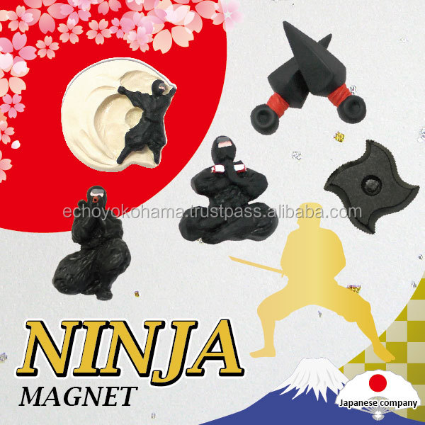 Popular rubber magnet a secret agent in ancient Japan, called 'ninja'