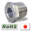 Easy to use and Durable stainless steel threaded pipe fittings with high precision made in Japan