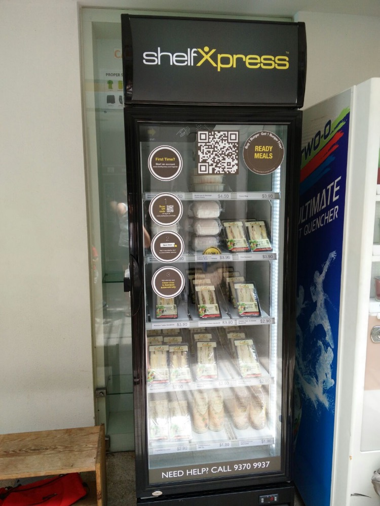 Cashless Automated Retail Machine