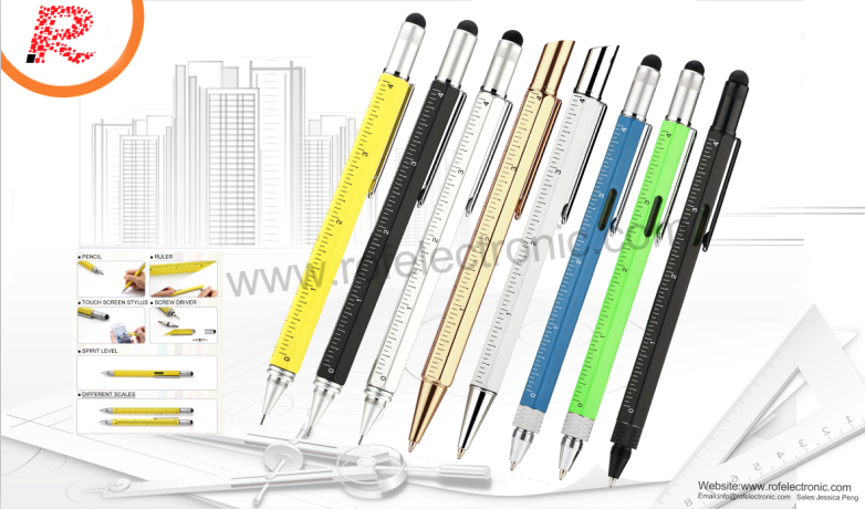 2-in-1 stylus pen / Touch pen for smartphone