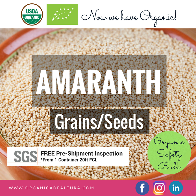 Amaranth Grain - High essential Aminoacids level - Bulk