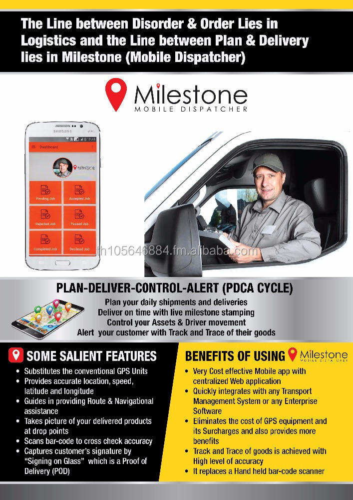 Milestone - Mobile Dispatcher