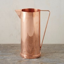 Copper Cocktail Pitcher