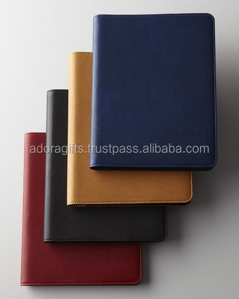Leather covers for school college notebooks / bible covers