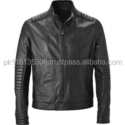 New Mens Fashion Faux Leather Slim Fit Bomber Motorcycle Jacket Coat