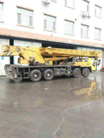 used XCMG QY50k 50T truck crane 2007y model in china