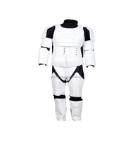 Stormtrooper Motorcycle Real Leather Suit / Stormtrooper costume suit