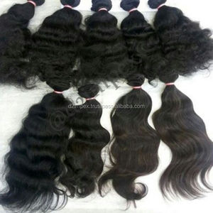 Wholesale natural virgin grade 7a Brazilian loose wave human hair extensions