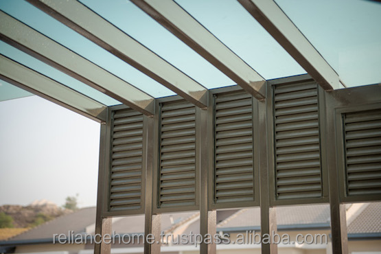Malaysia Reliance Home Outdoor Hallow Skylight Glass Roof