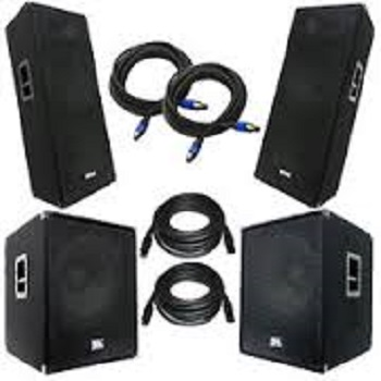 Discount Price + Free Shipping & Delivery 2x QSC KW12212 Powered Speakers with KW181 Active 18 Subwoofers KW122 KW181