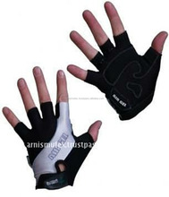 Professional Short Finger Cycling Sport gloves with anti vibration GEL pad