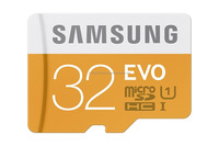32GB Class 10 Micro SDHC Card with Adapter for EVO