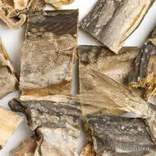 Pet food dried fish, dried stockfish